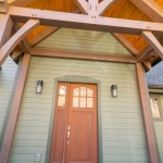 North Asheville Timberpeg exterior