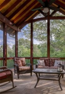 priced by design mountain screened in porch