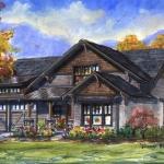 skylar house plan, Southcliff, Asheville