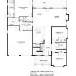 Skylar first floor plan, Southcliff, Asheville