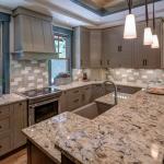 Black Mountain Transitional Craftsman kitchen