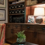 Black Mountain Transitional Craftsman sitting room