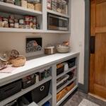Black Mountain Transitional Craftsman pantry