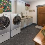 Black Mountain Transitional Craftsman laundry room