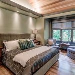 Black Mountain Transitional Craftsman bedroom