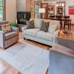 Black Mountain Transitional Craftsman living room