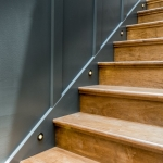 Black Mountain Transitional Craftsman staircase