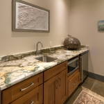 Black Mountain Transitional Craftsman bathroom
