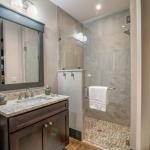 Black Mountain Transitional Craftsman bathroom