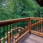 Black Mountain Transitional Craftsman deck