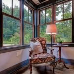 Black Mountain Transitional Craftsman sitting area