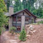 Black Mountain Transitional Craftsman exterior