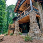 Black Mountain Transitional Craftsman exterior