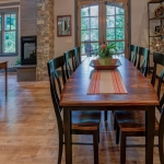 Black Mountain Transitional Craftsman dining room