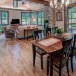 Black Mountain Transitional Craftsman dining room