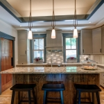 Black Mountain Transitional Craftsman kitchen