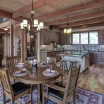 Asheville Timberpeg dining room