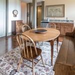Asheville Timberpeg dining room