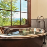 Black mountain craftsman bath tub