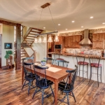 Black mountain craftsman dining room