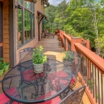 Black mountain craftsman deck