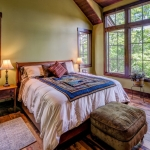 Black mountain craftsman bedroom