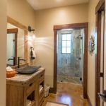 Black mountain craftsman bathroom