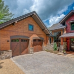 Black Mountain Craftsman two car garage