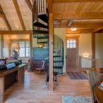 Arden Timberpeg spiral staircase