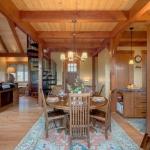 Arden Timberpeg dining room