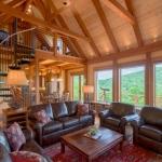 Arden Timberpeg living room