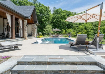 Living Stone Design+Build Pool View