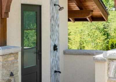 Living Stone Design+Build Shower Side Entrance