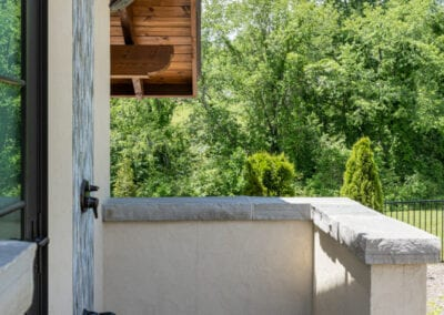 Living Stone Design+Build Outdoor Shower View