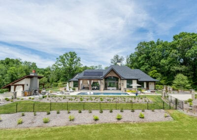 Living Stone Design+Build Pool and Lawn