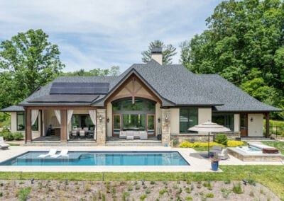 Living Stone Design+Build Pool and Hotub