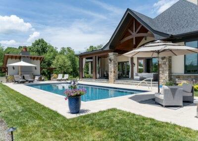 Living Stone Design+Build Pool and Decor