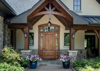 Living Stone Design+Build House Front Door