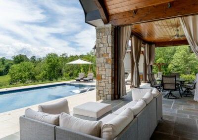 Living Stone Design+Build Covered Patio