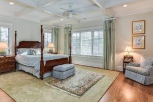 vogel renovation master bed room