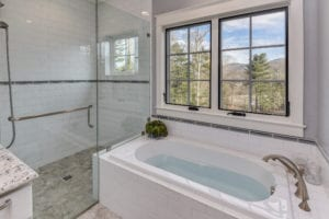 vogel renovation master bathroom