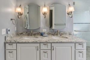 vogel renovation master bathroom