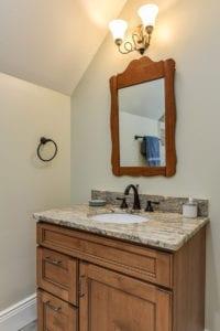 vogel renovation guest bathroom