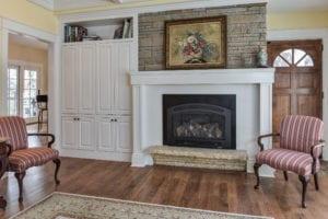 vogel renovation fireplace