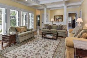 vogel renovation living room