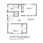 woodhaven second floor plan , Southcliff, Asheville